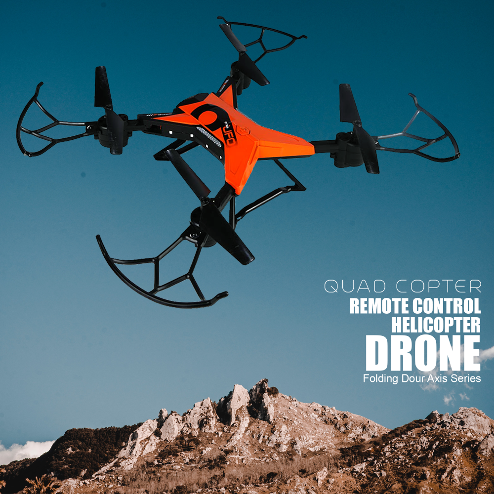 Remote Control Rc Drone Quadcopter For Kids & Adults