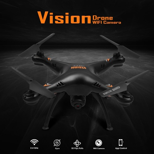 WiFi RC Drone 4K Camera Optical Flow 480P HD Camera Aerial Video RC Quadcopter Aircraft Quadrocopter Wide Angle Toys