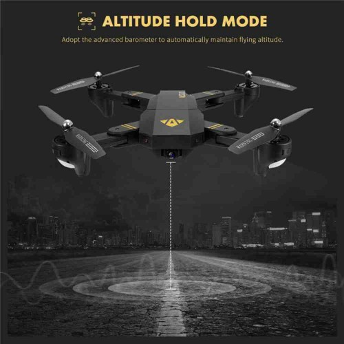Visuo Drone Helicopter With 580 P Camera Rc Drone Quadcopter